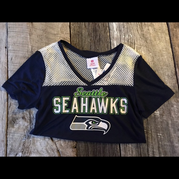 low priced f5dd2 e5822 NWT Seattle Seahawks Retro Styled Jersey Medium NWT